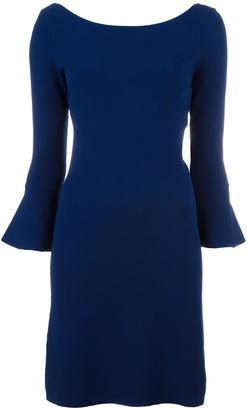 Twin-Set bell sleeve dress $178.05 thestylecure.com