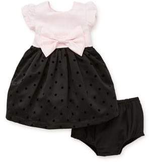 Little Me Baby Girl's Two Piece Dress & Bloomer Set