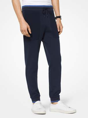Michael Kors Cotton-Blend Joggers