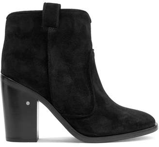 Laurence Dacade Nico Suede Ankle Boots - Black