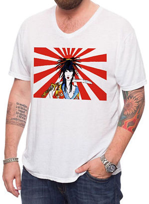 Jack Of All Trades Zane Fix Kamikaze Girl Burnout Tee $42 thestylecure.com