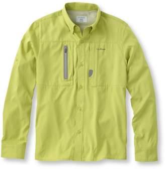 L.L. Bean L.L.Bean Rapid River Technical Fishing Shirt, Long-Sleeve