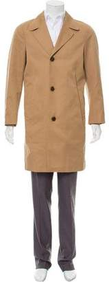 Tom Ford Woven Button-Up Coat