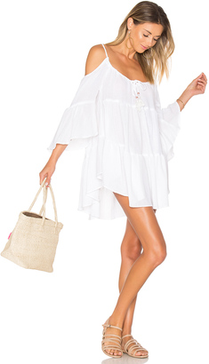 ale by alessandra Say Oui Cold Shoulder Dress $154 thestylecure.com