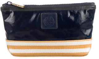 Tory Burch Tory Burch Tri-Color Cosmetic Bag