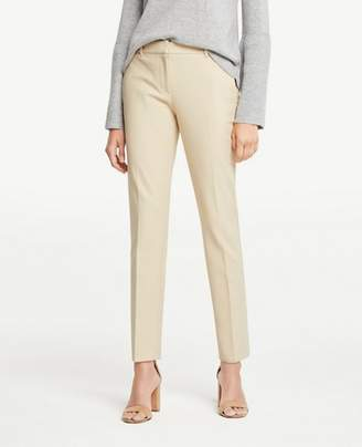 Ann Taylor The Petite Ankle Pant In Dense Twill
