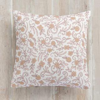 Vintage Florals Square Pillow