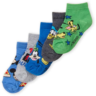 Disney Toddler Boys) 5-Pack Mickey Mouse & Friends Socks