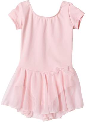 Capezio Girls 2-6x Short Sleeve Nylon Dress