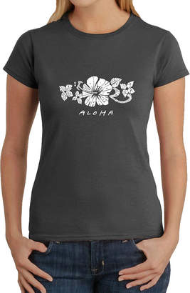 LOS ANGELES POP ART Los Angeles Pop Art Aloha Graphic T-Shirt