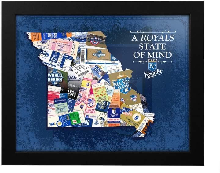 Kansas City Royals State of Mind Framed Wall Art