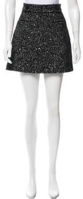 Claudie Pierlot Boucle Mini Shorts
