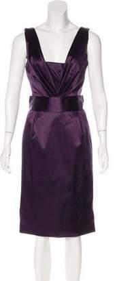 Dolce & Gabbana Pleated Midi Dress