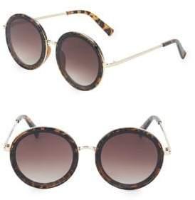 Fantas-Eyes 57MM Round Sunglasses