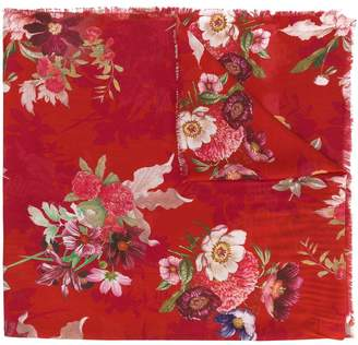 Twin-Set floral print scarf
