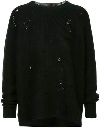 Julius distressed jumper