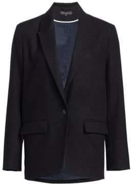 Rag & Bone Monty Oversized Single-Button Blazer