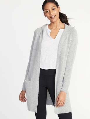 Old Navy Super-Long Open-Front Hoodie for Women