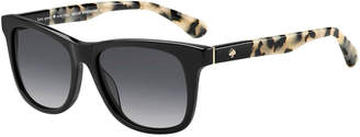 Kate Spade charmine two-tone square sunglasses