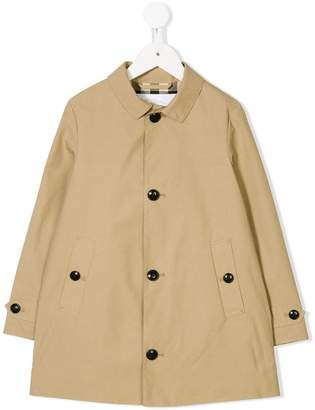 Burberry single-breasted coat