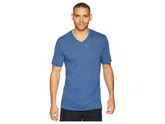 Jockey 50 Rayon/50 Poly Knit Short Sleeve V-Neck Tee Men's Short Sleeve Pullover