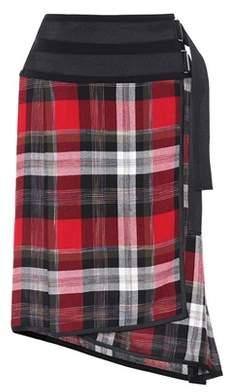 Public School Mak Ilha plaid skirt