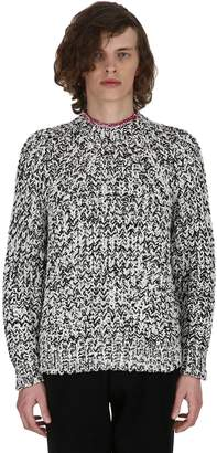 Isabel Marant Qeldon Hooded Cotton Knit Sweater