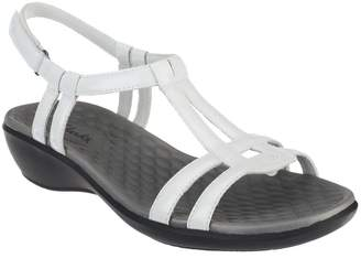 8ff0f312c91 ... Clarks Patent T-Strap Sandals - Sonar Aster