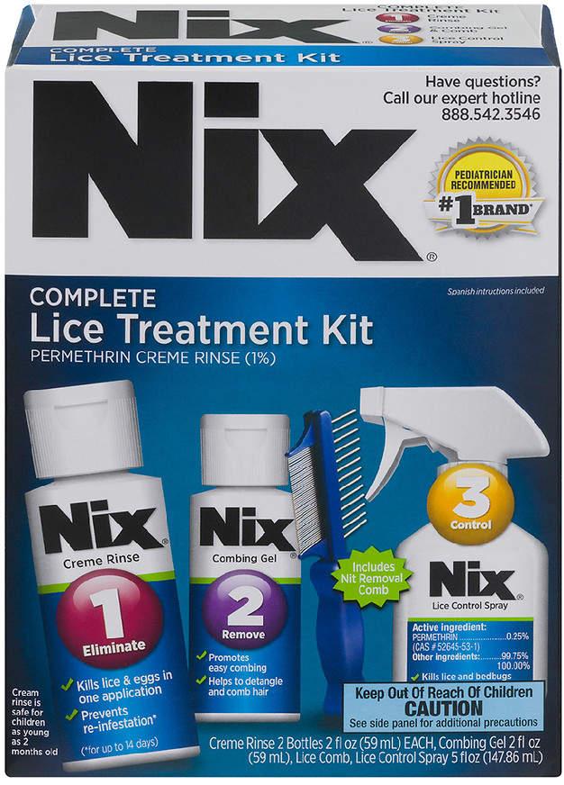 Nix Complete Lice Elimination Kit