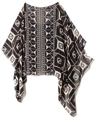 Vince Camuto Graphic-print Poncho