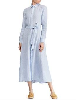 Polo Ralph Lauren Ashton Long Sleeve Dress