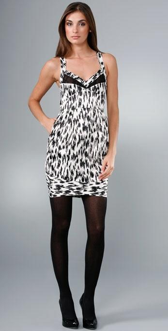 YAYA AFLALO Zebra Court Dress
