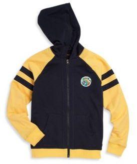 True Religion Boy's Contrast Hoodie $79 thestylecure.com