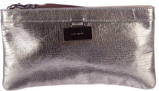 Kate Spade Kate Spade New York Metallic Leather Wristlet
