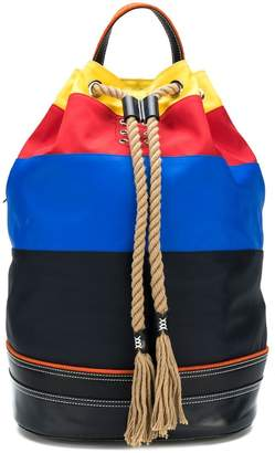 J.W.Anderson striped sailor backpack