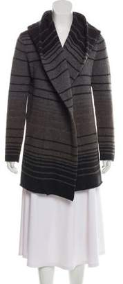 Vince Wool-Blend Hooded Cape