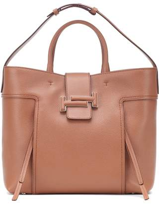 Tod's Double T Large leather shopper