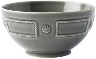 Juliska Berry & Thread French Panel Stone Grey Cereal/Ice Cream Bowl