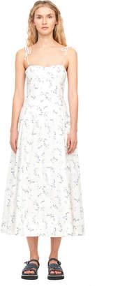 Rebecca Taylor Francine Floral Poplin Tank Dress
