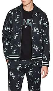 Kenzo Men's Floral Jacquard Track Jacket - Navy
