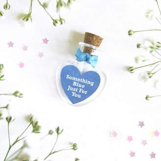 Munchkin Creative Personalised 'Something Blue' Heart Bottle