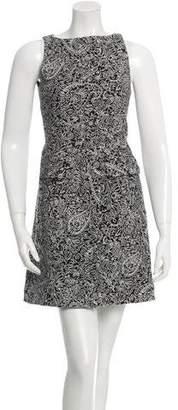 Tory Burch Sleeveless Pattered Dress