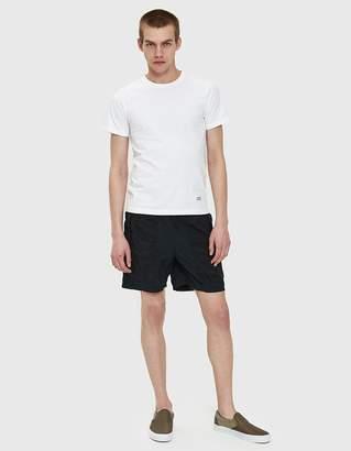 Stone Island Brushed Nylon Ghost Swim Shorts in Black