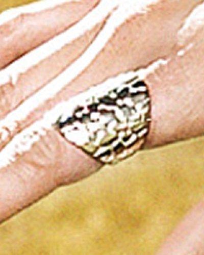 Snake Embossed Ring