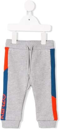 Kenzo side logo track pants
