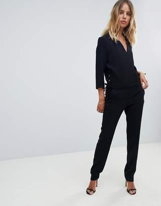 58bf2e2b9480 Black Tailored Jumpsuit - ShopStyle UK