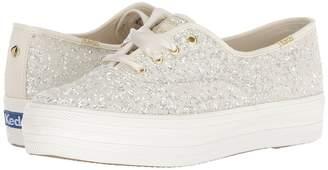 Kate Spade Keds x Bridal Triple Glitter Women's Shoes