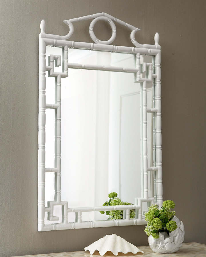 Horchow Bamboo Mirror