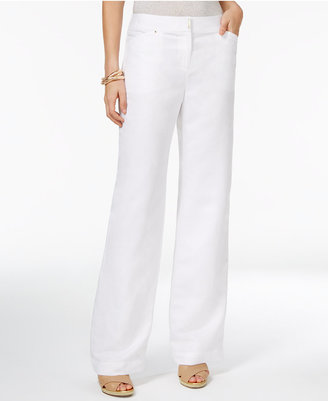 JM Collection Straight-Leg Pants, Only at Macy's $49.50 thestylecure.com