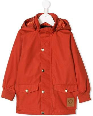 Mini Rodini hooded raincoat